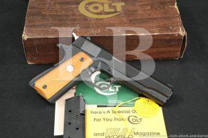Colt Series '70 MK IV Government Model 1911, .45 ACP Semi-Auto Pistol, 1974