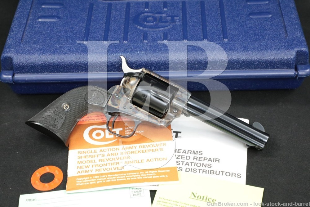 Colt Single Action Army SAA 3rd Gen .38-40 Winchester WCF Revolver, 1997