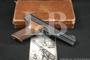 Colt Woodsman Match Target 3rd Series .22 LR Semi-Auto Pistol, MFD 1966 C&R