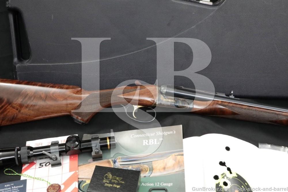 Connecticut Shotgun MFG. RBL Professional Slug Gun 20 GA 24″ Side by Side