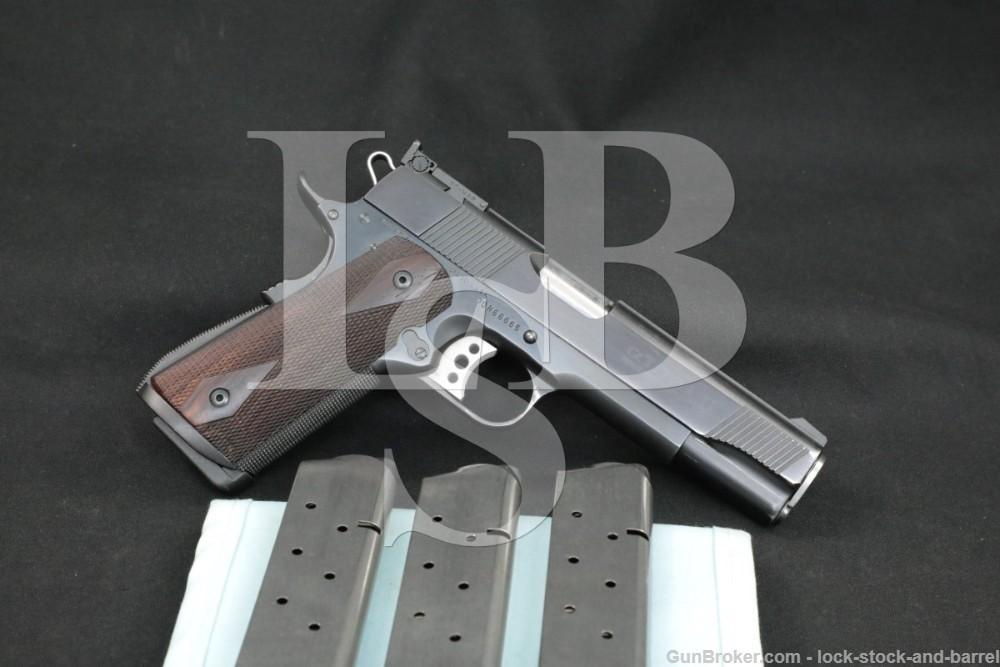 Custom Colt Gold Cup National Match Series 70 1911 .45 ACP Semi-Auto Pistol