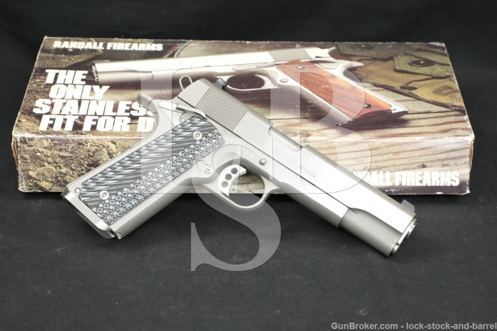 "Custom Randall Service Model 1911 .45 ACP 5"" Semi-Automatic Pistol"