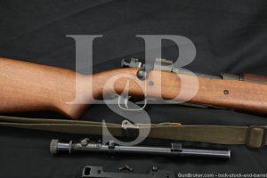"Custom Remington Sniper 03A3 03A4 .30-06 Sprg 24"" WWII Rifle MFD 1943 C&R"