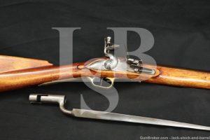 Dixie Gun Works Short Land Pattern Tower Flintlock .74 Cal Musket Rifle