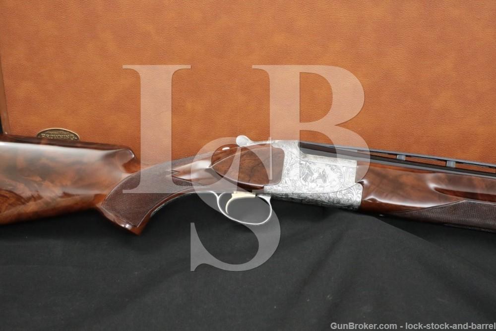 """Engraved Browning Citori Grade V 5 12 GA 28"""" Over Under O/U Shotgun 1983"""