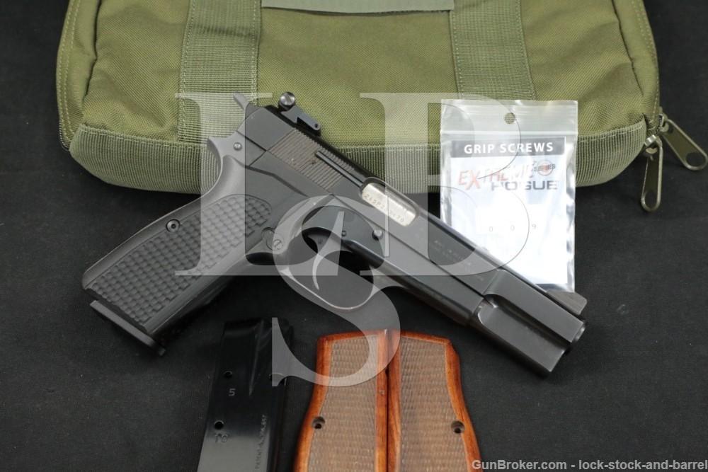 "FN Browning Model Hi-Power 9mm 4 5/8"" Semi-Automatic Pistol MFD 1981"