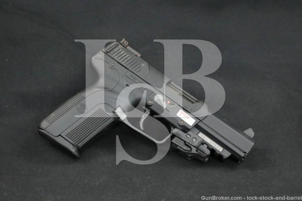 FNH-USA Five-seveN 5.7x28mm Crimson Trace Laser Semi-Auto Pistol, 1998-2021