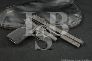 """Fabrique Nationale FN GP Competition Hi Power 9mm 6"""" Semi-Auto Pistol 1987"""