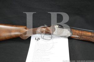HIlton Estate Bernardelli Orione E 12 Ga. Engraved Over/Under Shotgun, 1971