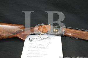 Hilton Estate Browning Superposed Midas Grade 28 GA O/U Shotgun, MFD 1973