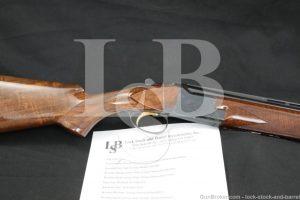 "Hilton Estate FN Browning Model Superposed 28 GA 28"" O/U Shotgun 1969 C&R"