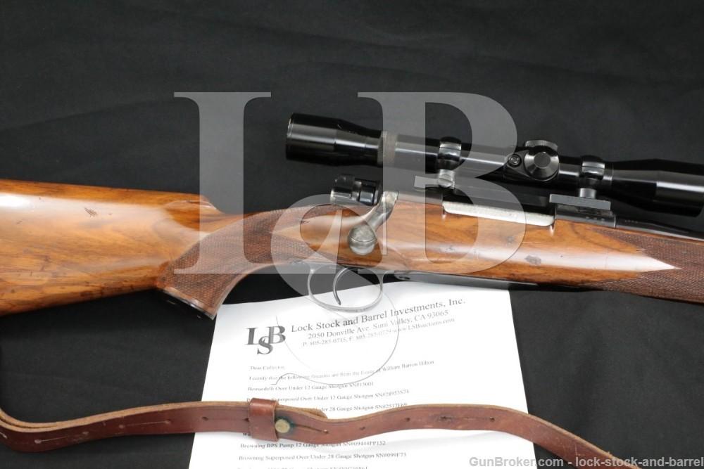 Hilton Estate Waffenfabrik Mauser / Jules LaBantchni Custom Sporter Rifle