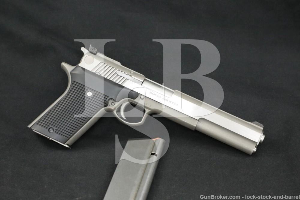 "IAI Irwindale Arms Inc. Automag III 3 .30 Carbine 6 3/8"" Semi-Auto Pistol"