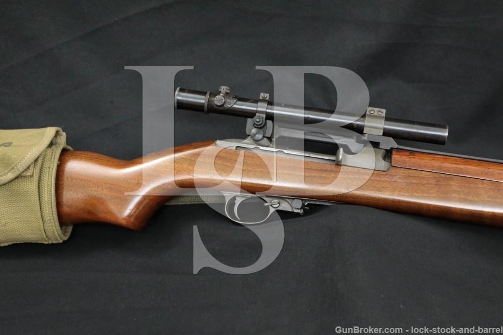 Inland Division M1 Carbine .30 2.5x Scope Semi Automatic Rifle C&R