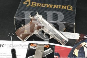 James Darrens Browning Beretta Model BDA .380 ACP Semi-Auto Pistol MFD 1991