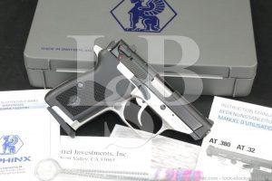 """James Darren's Sphinx Model AT.380-M .380 ACP 3.27"""" DAO Semi-Auto Pistol"""