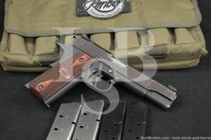 "Kimber Clackamas Model Classic 1911 1911-A1 .45 ACP 5"" Semi-Auto Pistol"