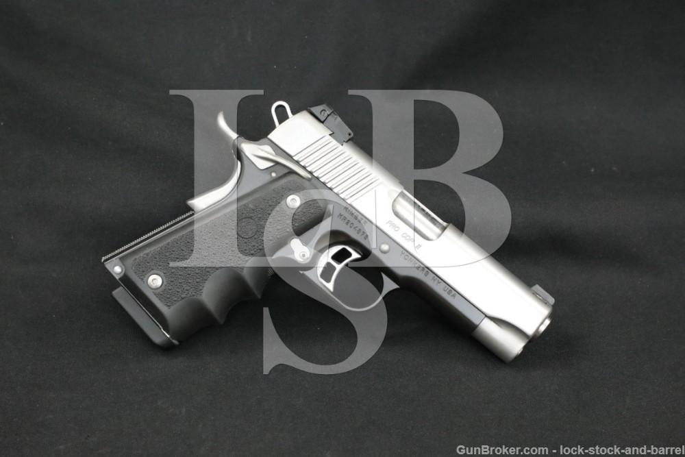 "Kimber Model Pro CDP II 2 .45 ACP 4"" 1911 1911A1 Semi-Automatic Pistol"