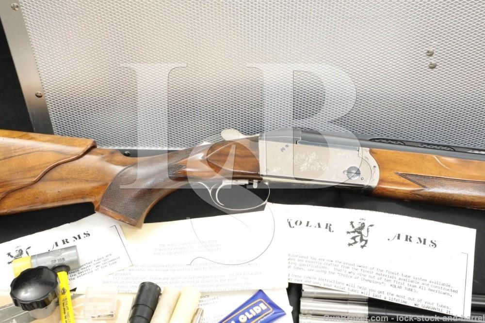 "Krieghoff Model K80 K-80 Two Barrel Set 12 GA 28"" Over Under Shotgun 1992"