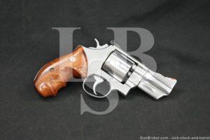 "Lew Horton Smith & Wesson S&W Model 624 103586 .44 Special 3"" Revolver"