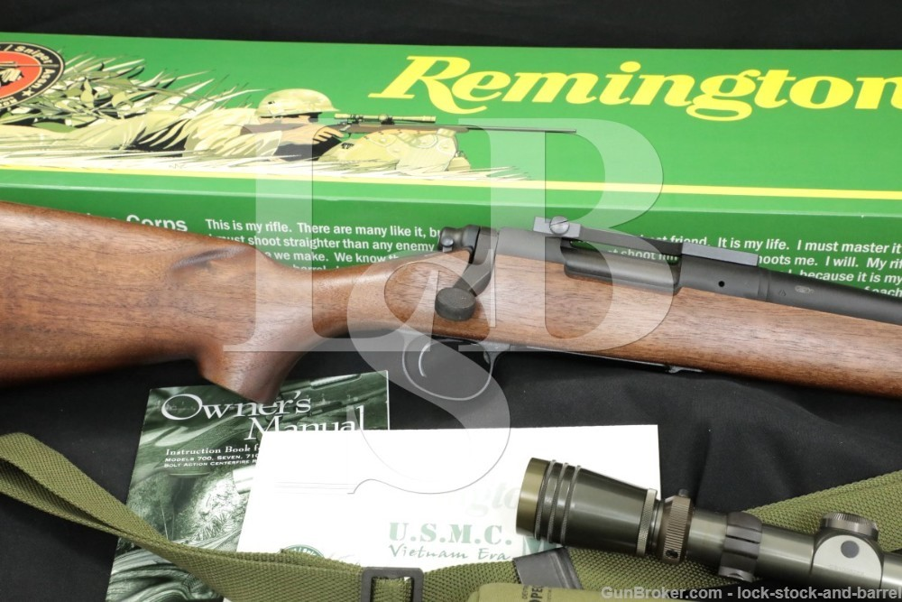 "Limited Edition Remington Model 40-SSA Sniper M40 .308 Win 24"" Rifle 2006"