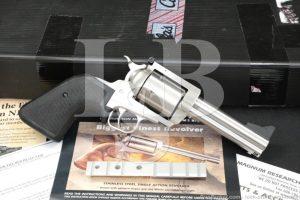 "Magnum Research Model BFR Biggest Finest Revolver 44 Mag 4.5"" Single Action"