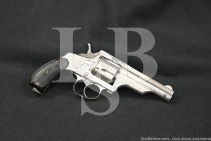 "Merwin & Hulbert Medium Frame .38 S&W 3.5"" Folding Hammer Revolver Antique"