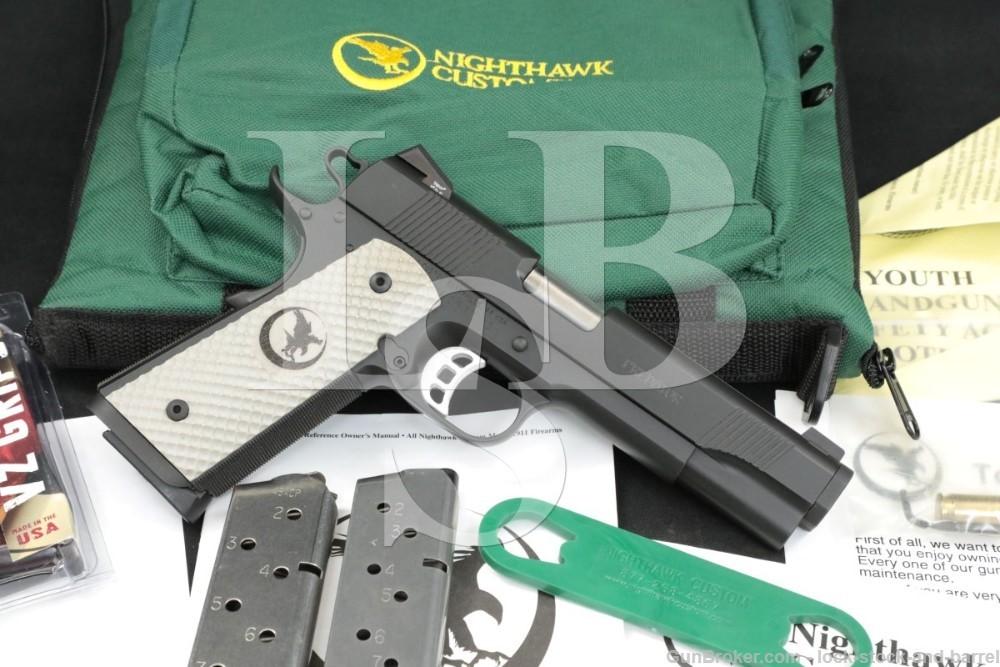 "Nighthawk Custom Model Predator .45 ACP 5"" Semi-Automatic Pistol MFD 2012"