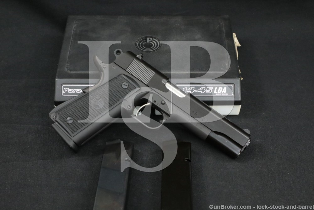 "Para-Ordnance 14.45 LDA Light Double Action .45 ACP 5"" Semi-Auto Pistol"
