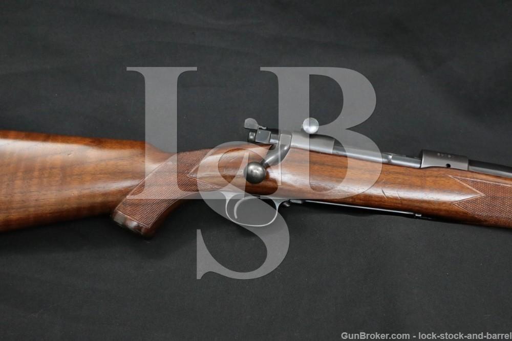 """Pre-64 Winchester Model 70 Super Grade 24"""" .270 WCF Bolt Rifle MFD 1938 C&R"""