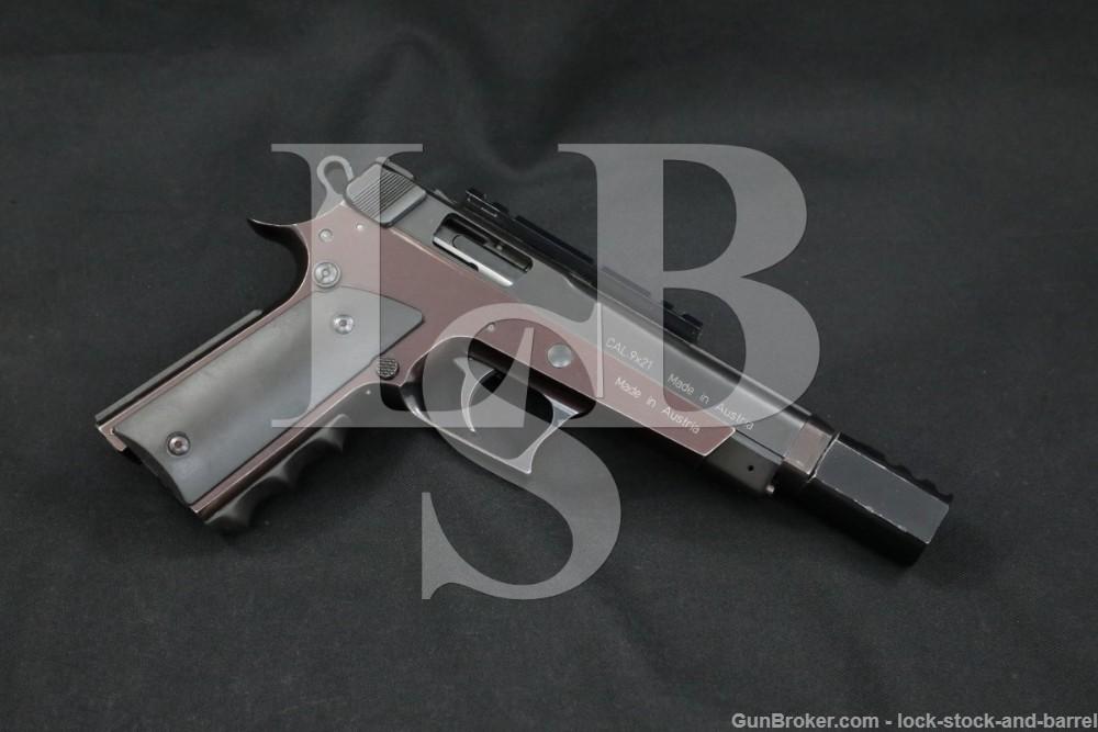 Rare Wolf Model Ultramatic SV 9x21mm Locking Bolt Semi-Auto Target Pistol