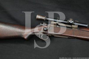 "Remington 03-A4 Sniper 1903A4 .30-06 Sprg. 24"" Bolt Action Rifle 1944 C&R"