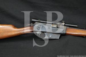 "Remington UMC Model 8 .35 Rem. 22"" Semi-Automatic Rifle MFD 1928 C&R"