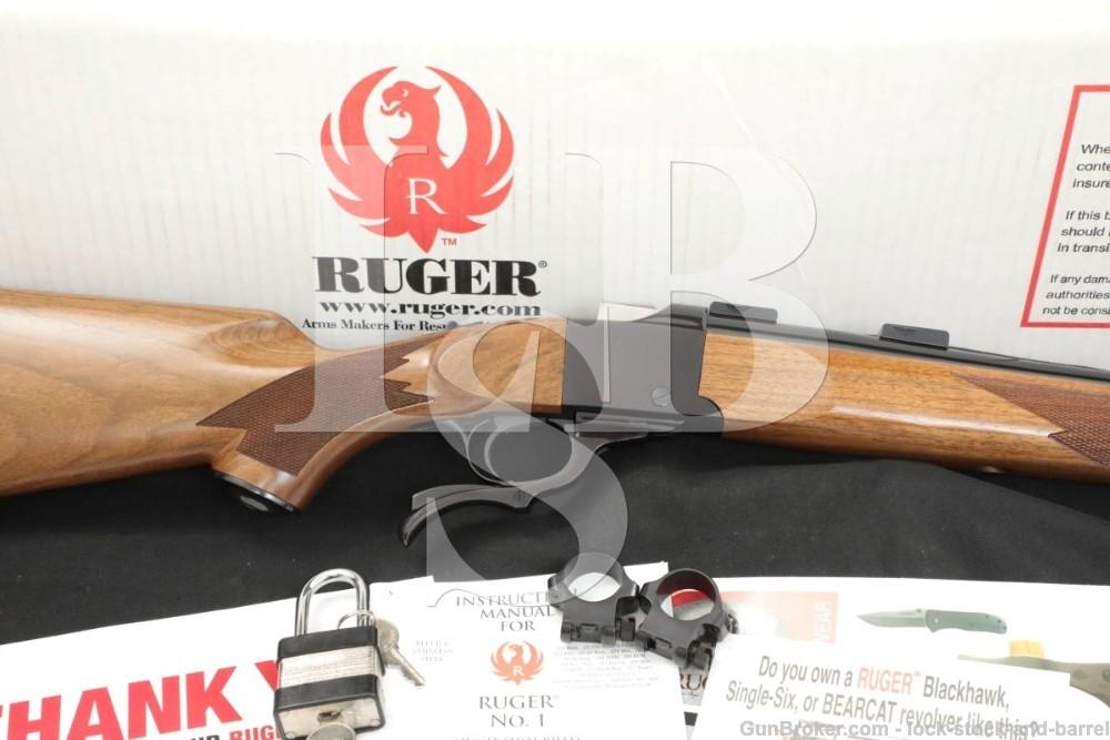 Ruger No 1 No-1 Number-1 #1 21300 1-V-243 .243 Win Single Shot Rifle 2016