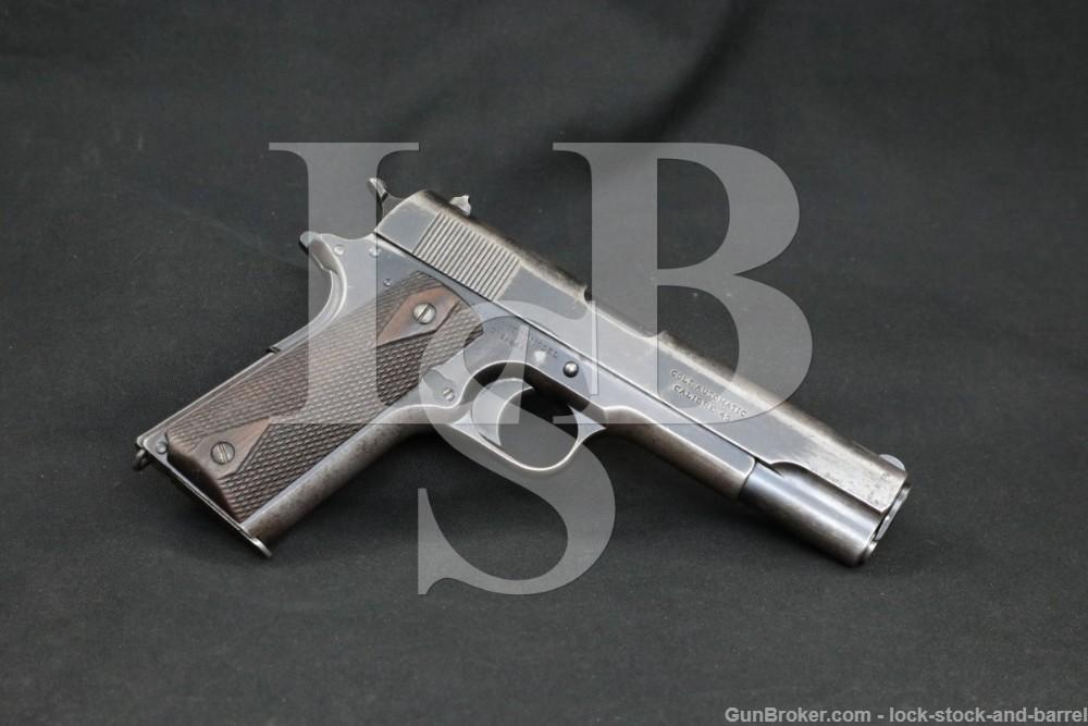 Russian Contract Colt Government Model 1911 .45 ACP Semi-Auto Pistol, C&R
