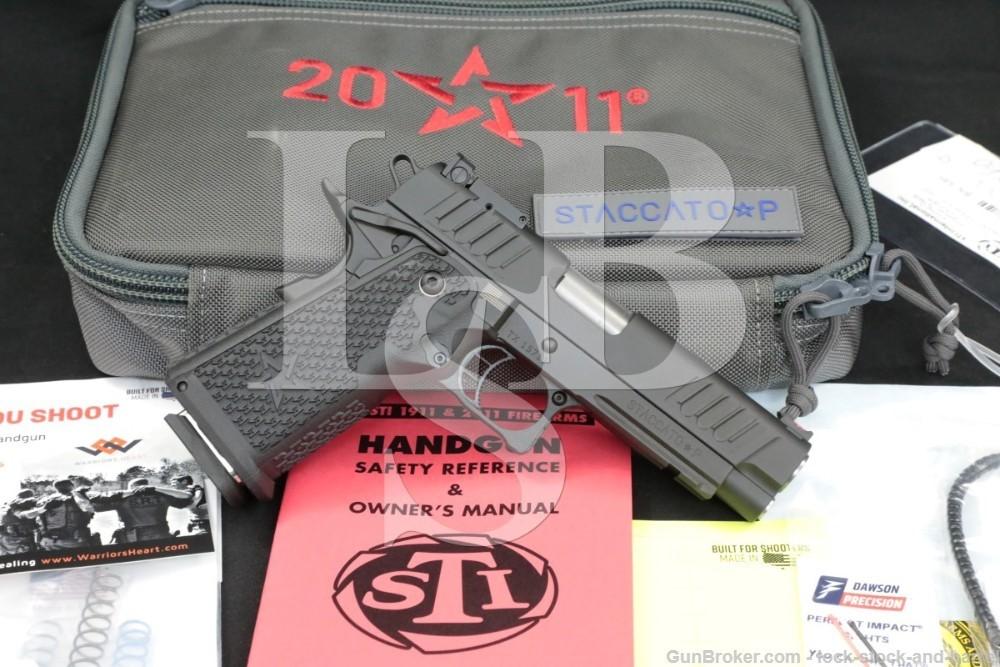 "STI International Model Staccato P 9mm 4.4"" 2011 1911 Semi-Automatic Pistol"