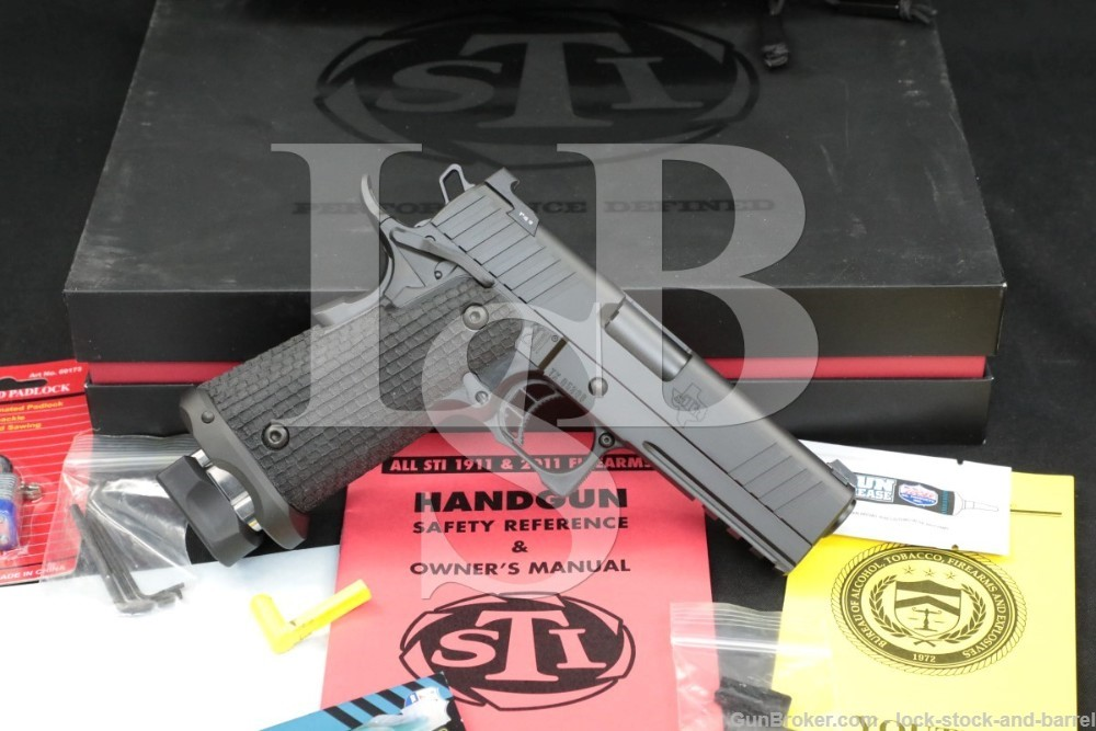 "STI International Model Tactical DS 9mm 4"" 2011 1911 Semi-Automatic Pistol"