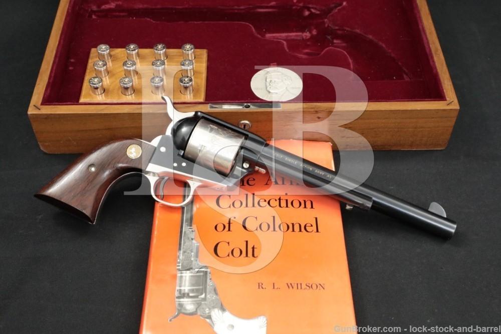 Sam Colt Sesquicentennial Single Action Army SAA .45 Revolver, MFD 1964 C&R