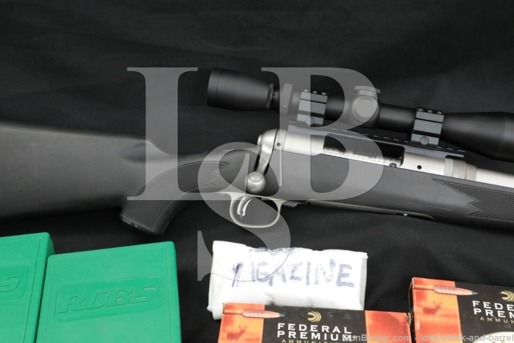 Savage Model 16 Trophy Hunter XP 338 Federal Stainless Bolt Rifle 2012-2020