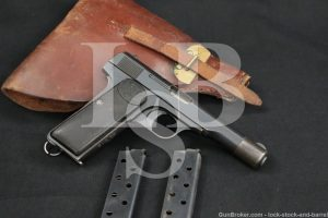 Shanghai Police Fabrique Nationale FN 1922, .380 ACP Semi-Auto Pistol, C&R