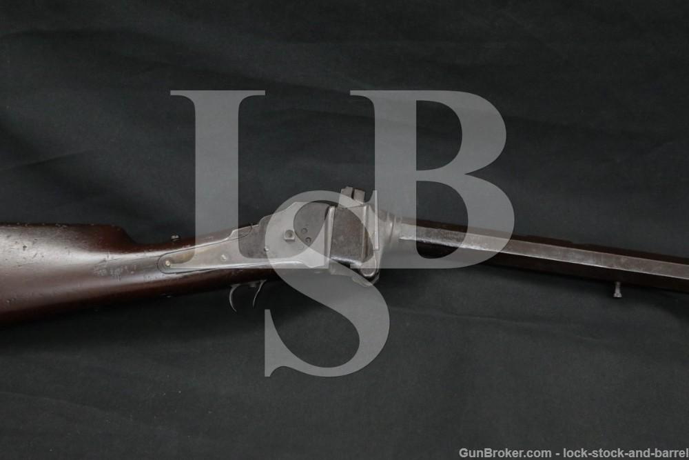 "Sharps Rifle Co. Model 1874 .45-70 28"" Falling Block Sporting Rifle Antique"