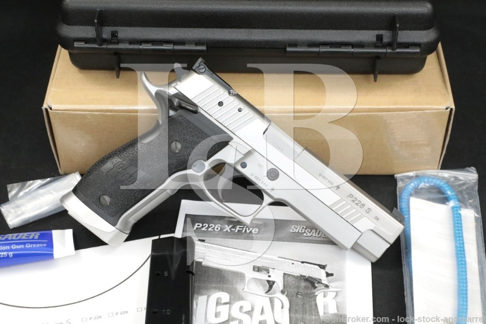 Sig Sauer P226 P-226 X-Five Competition .40 S&W Stainless Semi-Auto Pistol