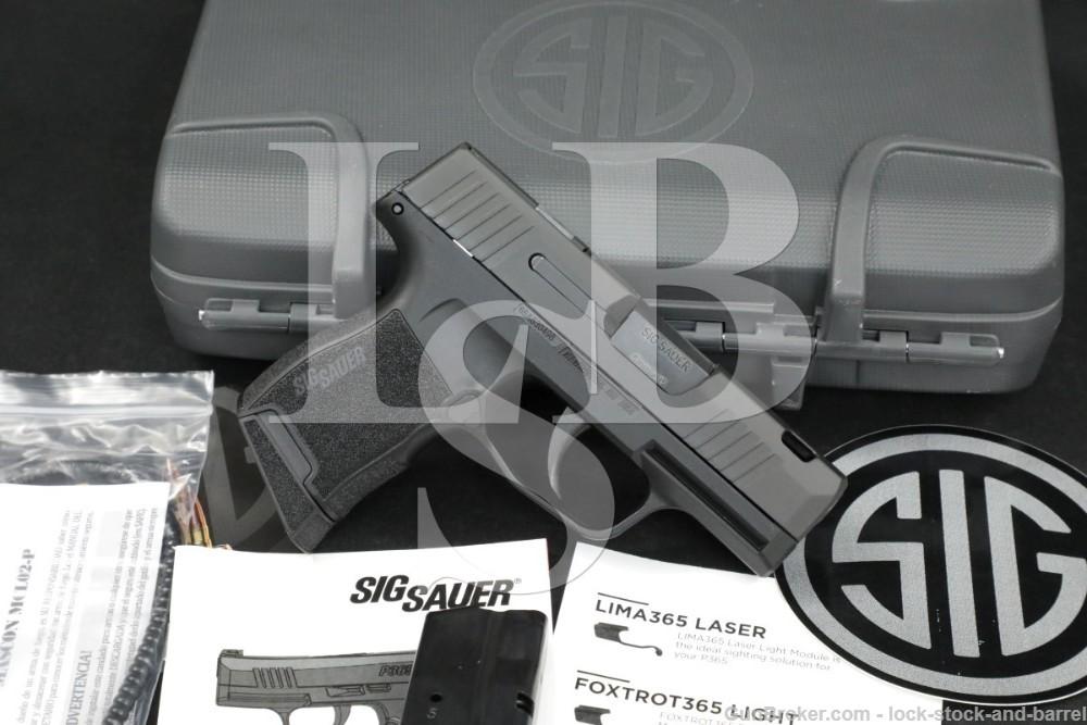 Sig Sauer P365 SAS P-365 L365-9-SAS-C 9mm Semi-Auto Pistol, MFD 2010