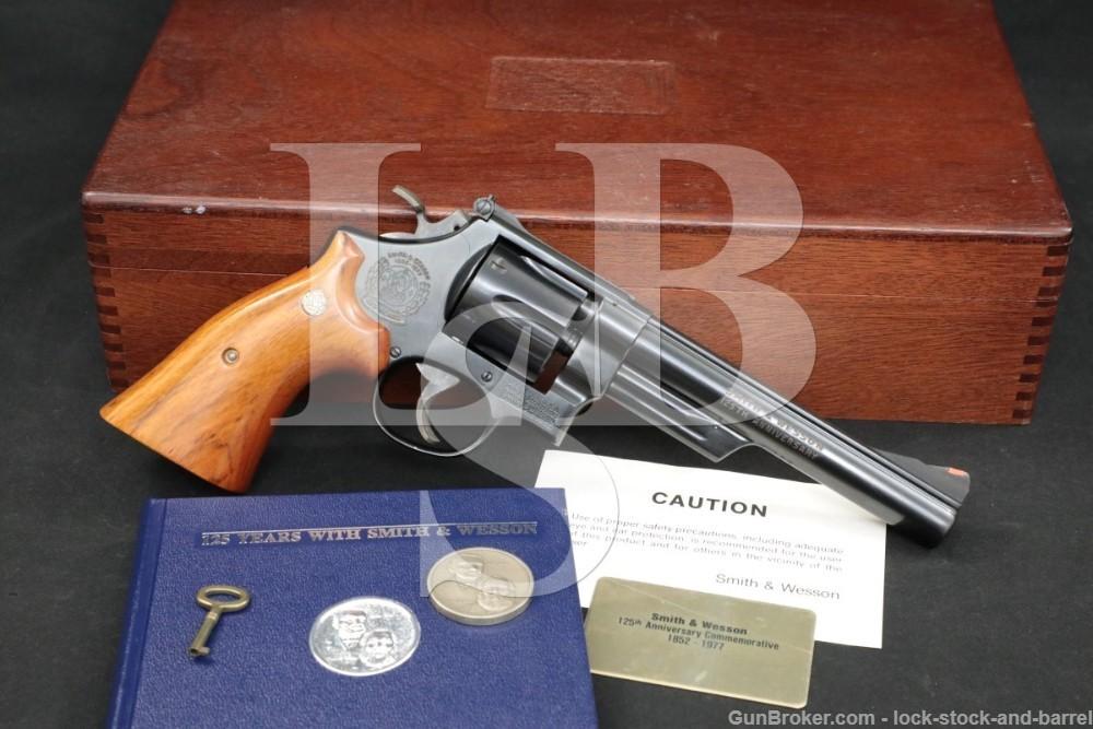 Smith & Wesson S&W 25-3 125th Anniversary Commemorative .45 LC Revolver C&R