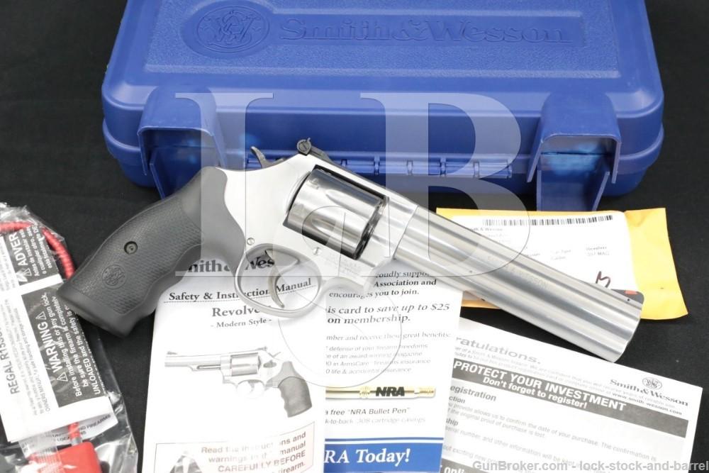 Smith & Wesson S&W 686-6 Plus 7-Shot 164198A .357 Magnum Revolver, MFD 2015