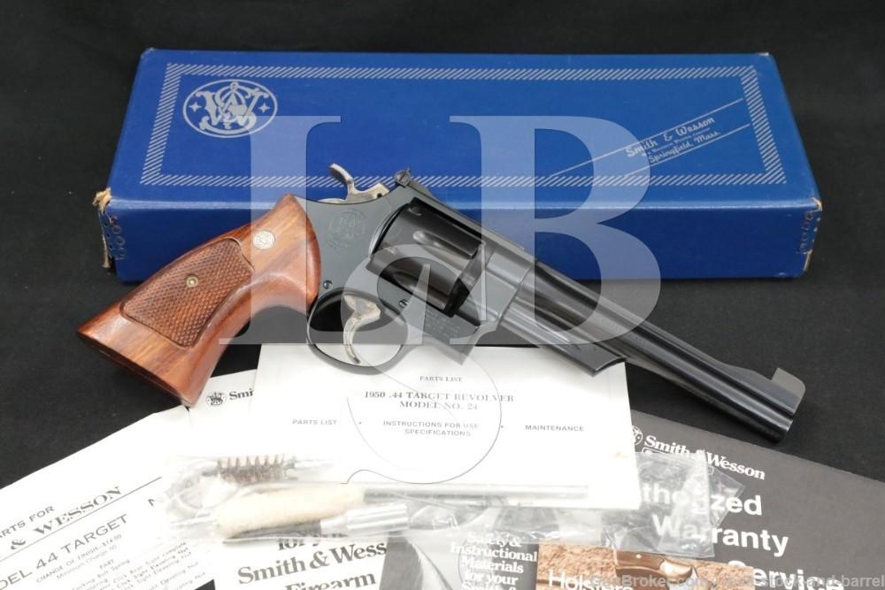 "Smith & Wesson S&W Model 24-3 1950 Target .44 Spl. 6.5"" DA/SA Revolver"