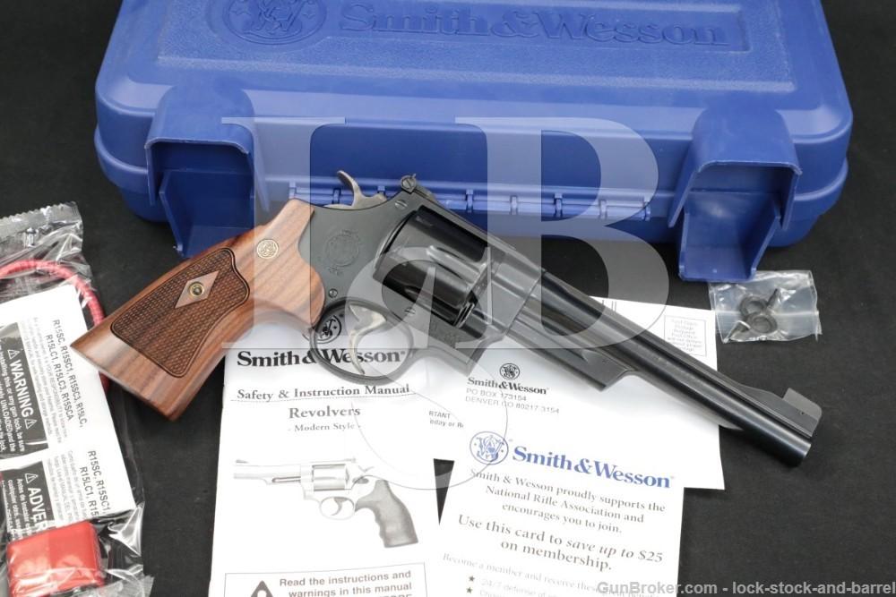 """Smith & Wesson S&W Model 25-15 150256A .45 Colt 6"""" DA/SA Revolver MFD 2016"""
