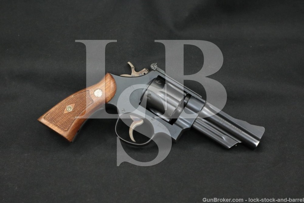 "Smith & Wesson S&W Model 28-2 Highway Patrolman 357 4"" DA/SA Revolver C&R"
