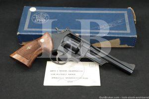 "Smith & Wesson S&W Model 28-2 Highway Patrolman 357 6"" DA/SA Revolver C&R"