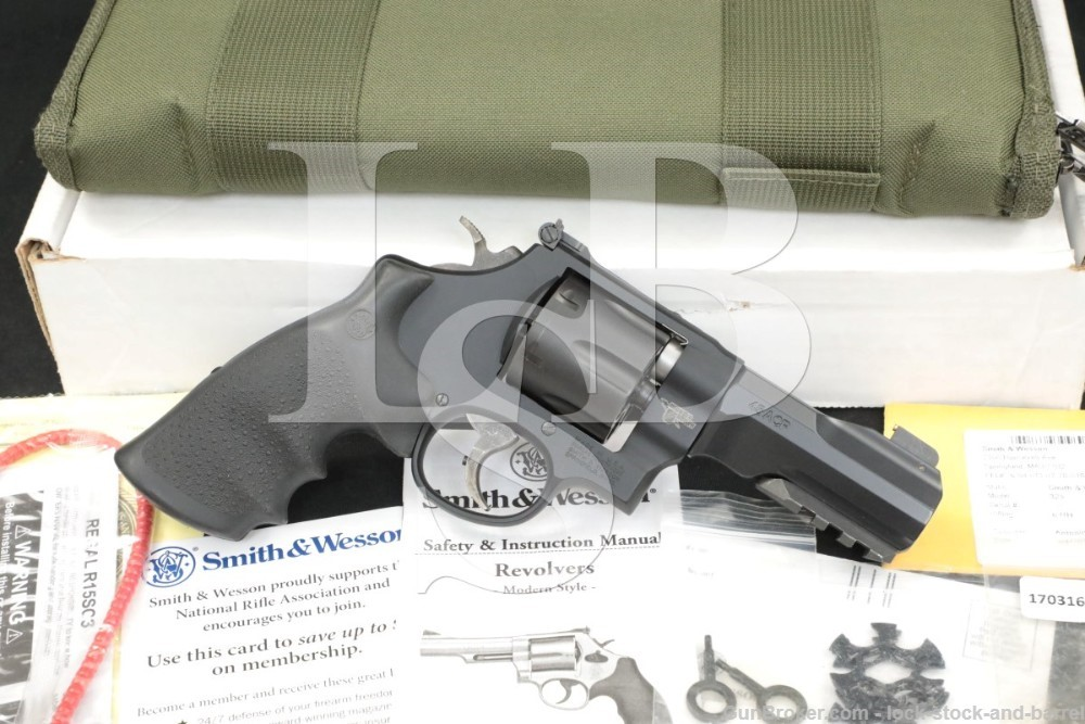 "Smith & Wesson S&W Model 325 Thunder Ranch 170316A .45 ACP 4"" Revolver 2015"